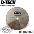 DIAMOND BLADE CONTINUOUS RIM 230 X 22.23MM TILE