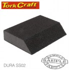 SANDING SPONGE BLOCK SINGLE ANGLED 120X70X25 COARSE 1PC