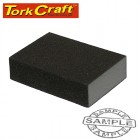 SANDING SPONGE BLOCK DUAL ANGLED 120X70X25 MEDIUM1PC
