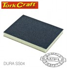 SANDING SPONGE BLOCK TWO SIDED 125X100X10 2PC