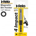 "FELO 038 IMP. MAG. BIT HOLDER 14"" 95MM CARD"