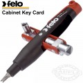 FELO 063 UNI. CABINET KEY CARD