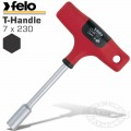 FELO 304 7X230 NUT DRIVER T-HANDLE