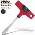 FELO 304 13X230 NUT DRIVER T-HANDLE