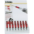 "FELO 380 1/4""F MAG. BIT HOLDER 24PC STAR DISPLAY"