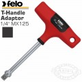 "FELO 397 1/4""MX125 ADAPTER T-HANDLE"
