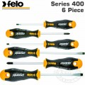 FELO 400 S/DRIVER SET 6PC ERGONIC HARD CASE