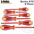FELO 413 S/DRIVER SET 6PC ERGONIC INSULATED VDE SL/PH