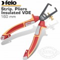 FELO PLIER STRIP. 160MM INSULATED VDE
