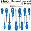 SCREWDRIVER-SET 800 12PC BLUE SERIES PLASTIC CASE