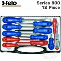 FELO SCREWDRIVER  SET 12-PCE INSULATED