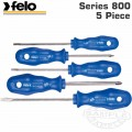 FELO S/DRIVER SET 5-PCE BLUE SERIES SL;PH