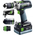 FESTOOL CORDLESS PERCUSSION DRILL PDC 18/4 LI 5,2-SET XL QUADRIVE 5645