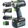 FESTOOL CORDLESS PERCUSSION DRILL PDC 18/4 LI 5,2-SET/XL QUADRIVE 5747