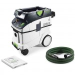 MOBILE DUST EXTRACTOR CTL 36 E LE CLEANTEC