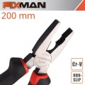 "FIXMAN INDUSTRIAL COMBINATION PLIERS 8"" X 200MM"