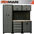FIXMAN GARAGE STORAGE UNIT 1980 X 2000 X 457MM 5PC CABINET / PANEL BOA