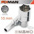 "FIXMAN 1/2"" DR DEEP SOCKET 10MM"