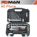 "FIXMAN SOCKET TOOL SET 40PC 1/2"" DRIVE"