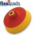 SANDER SUPER PAD 123MM (V.SOFT 25MM FOAM) HOOK AND LOOP M14 X 2MM