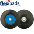 GRINDER PAD & NUT 115MM M14X2MM BLACK