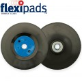GRINDER PAD & NUT 125MM M14X2MM BLACK