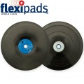 GRINDER PAD & NUT 178MM M14X2MM BLACK