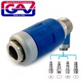 SAFETY QUICK COUPLER 1/2 M PACKAGED TWO STAGE RELEASE