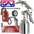 SPRAY GUN KIT 5PIECE W/162B