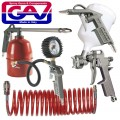 SPRAY GUN KIT 5PIECE W/162A