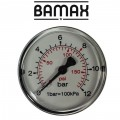 PRESSURE GAUGE 50MM 1/8 REAR