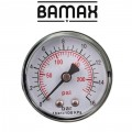 "PRESSURE GAUGE 1/4""REAR 50MM D5014R16 PACKAGED"