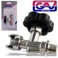 "LINE TAP W/HANDWHEEL 1/4"" PACKAGED"