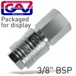"""QUICK COUPLER 3/8""""F PACKAGED"""