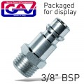 "COUPLER INSERT 3/8""M 2 PACKAGED"