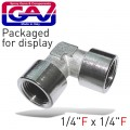 "ELBOW F-F 1/4"" PACKAGED"