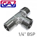 """T CONNECTOR 1/4"""" FMF"""
