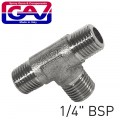 """T CONNECTOR 1/4""""MMM    (GIO1067/2)"""