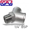 Y CONNECTOR MFF 1/4""