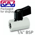 """QUICK BALL TAP  1/4"""" X 1/4"""" FF PACKAGED"""