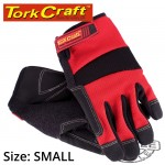 WORK GLOVE SMALL- ALL PURPOSE RED WITH TOUCH FINGER