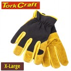 GLOVE  LEATHER PALM X-LARGE