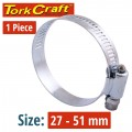 HOSE CLAMP 27-51MM EACH (10 PER BOX K24)