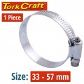 HOSE CLAMP 33-57MM EACH K28