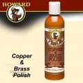 HOWARD COPPER & BRASS POLISH 8 OZ.