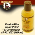 HOWARD FEED-N-WAX WOOD POLISH & CONDITIONER 139 ML
