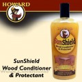 HOWARD SUNSHIELD OUTDOOR FURNITURE WAX 16FL.OZ