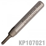 "STRAIGHT BIT 1/8"" (3.2MM) X 1/2"" CUT SOLID CARBIDE 2 FLUTE 1/4""SHANK"