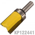"PATTERN FLUSH TRIM BIT. WITH SHANK MOUNTED BEARING 1 1/8"" X 1 1/2"" 1/2"