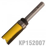 "PATTERN FLUSH TRIM BIT. WITH SHANK MOUNTED BEARING 1/2"" X 1"" 1/4"" SHAN"
